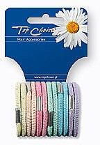 Voňavky, Parfémy, kozmetika Vlasové gumičky 12 ks, 22494 - Top Choice