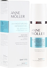Voňavky, Parfémy, kozmetika Hydratačný gél na tvár - Anne Moller Blockage 24h Moisturizing Defender Gel