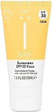 Voňavky, Parfémy, kozmetika Opaľovací krém na tvár - Naif Sunscreen Face Spf30