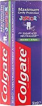 Voňavky, Parfémy, kozmetika Zubná pasta pre deti - Colgate Maximum Cavity Protection Junior 6+