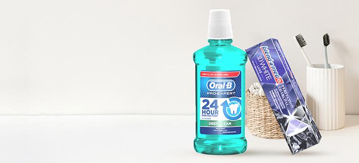 Pri nákupe produktov Blend-a-med, Blend-A-Dent a Oral-B v hodnote vyše 6€ získaj zubnú pastu ako darček