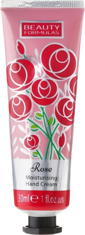 Krém na ruky - Beauty Formulas Rose Moisturising Hand Cream