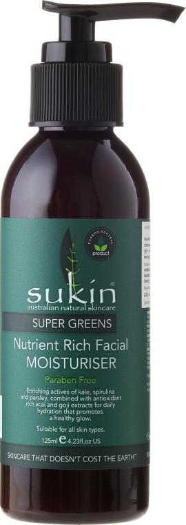 Super hydratačný krém na tvár - Sukin Super Greens Facial Moisturiser