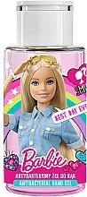 Voňavky, Parfémy, kozmetika Detský antibakteriálny gél na ruky - Uroda Barbie Antibacterial Hand Gel