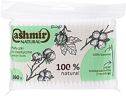 Voňavky, Parfémy, kozmetika Vatové tyčinky, 160 ks - Cashmir Natural Cotton Buds