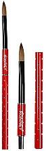 Voňavky, Parfémy, kozmetika Štetec na dizajn nechtov, RN 00442 - Ronney Professional Acrylic Nail Art Brush №10