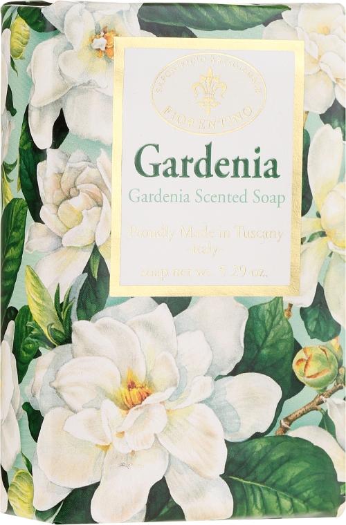 """Prírodné mydlo """"Gardénia"""" - Saponificio Artigianale Fiorentino Masaccio Gardenia Soap"""