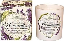 """Voňavky, Parfémy, kozmetika Vonná sviečka """"Toskánska levanduľa a verbéna"""" - Nesti Dante RomanticaTuscan Lavender & Verbena"""