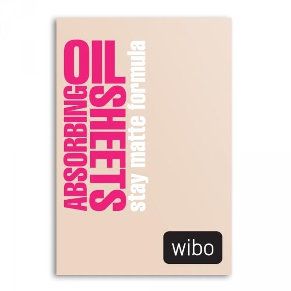 Papierové matujúce obrúsky - Wibo Oil Absorbing Sheets