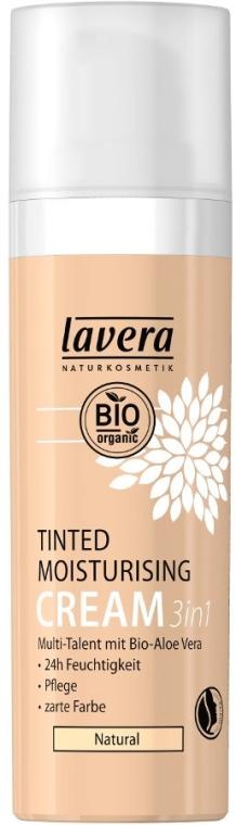 Tonálny hydratačný krém - Lavera Tinted Moisturizing Cream 3-in-1 — Obrázky N1