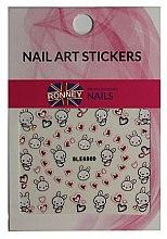 Voňavky, Parfémy, kozmetika Nálepky na nechtový dizajn - Ronney Professional Nail Art Stickers