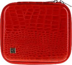 Voňavky, Parfémy, kozmetika Puzdro na manikúrové nástroje, CS-08, červené - Staleks Case For Manicure Tools