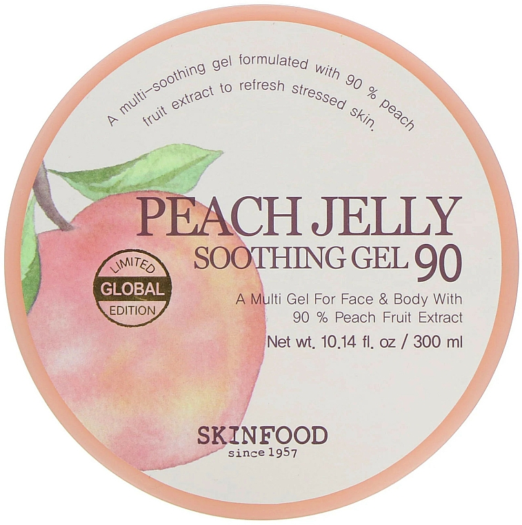 Telový gél - Skinfood Peach Jelly Soothing Gel