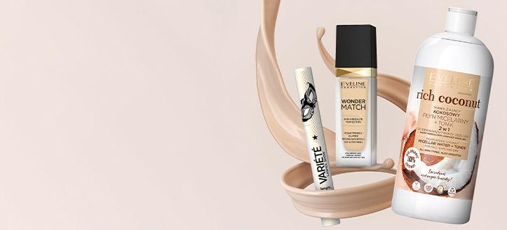 Zľava 10% na celý sortiment Eveline Cosmetics. Ceny na stránke sú uvedené so zľavou