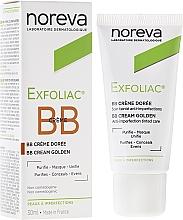 Voňavky, Parfémy, kozmetika Korekčný krém na opalenú pleť - Noreva Laboratoires Exfoliac Corrective Treatment Golden Tinted