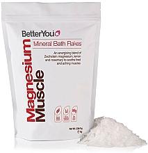 Voňavky, Parfémy, kozmetika Vločky do kúpeľa - BetterYou Magnesium Mineral Bath Flakes Lemon Rosemary