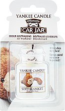 Voňavky, Parfémy, kozmetika Arómatizator automobilový - Yankee Candle Car Jar Ultimate Soft Blanket