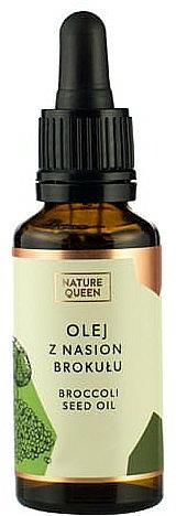 Kozmetický olej zo semien brokolice - Nature Queen Broccoli Seed Oil