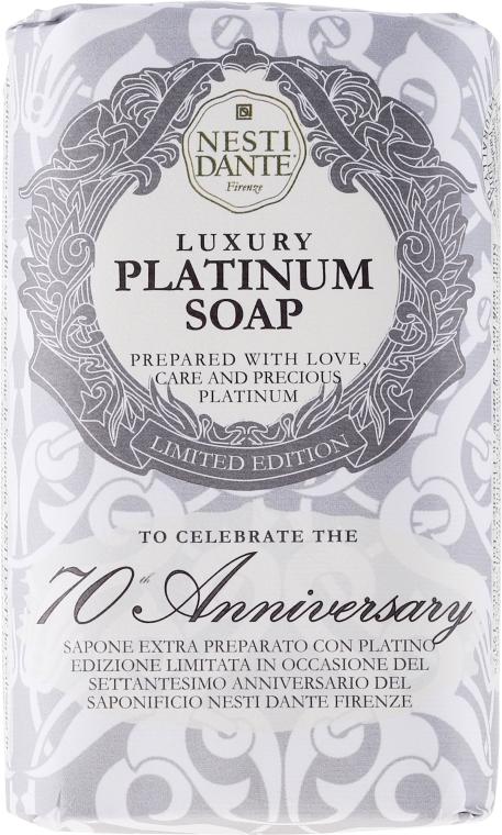 "Mydlo ""Platinum"" - Nesti Dante Luxury Platinum Soap 70th Anniversary"