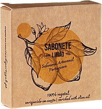 """Voňavky, Parfémy, kozmetika Prírodné mydlo """"Citrón"""" - Essencias De Portugal Senses Lemon Soap With Olive Oil"""