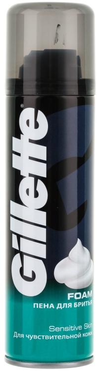 Pena na holenie pre citlivú pleť - Gillette Classic Sensitive Skin Shave Foam for Men