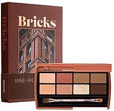 Voňavky, Parfémy, kozmetika Paleta očných tieňov - Heimish Dailism Eye Palette Brick Brown