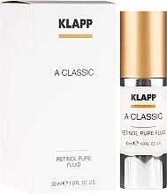 "Voňavky, Parfémy, kozmetika Emulzia na tvár ""Čistý retinol"" - Klapp A Classic Retinol Pure Serum"