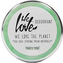 """Voňavky, Parfémy, kozmetika Prírodný krémový dezodorant """"Mäta"""" - We Love The Planet Mighty Mint Cream Deodorant"""