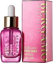 Voňavky, Parfémy, kozmetika Vysoko intenzívne sérum proti vráskam so slimačím mucínom - Bergamo Specialist S9 Snail Ampoule