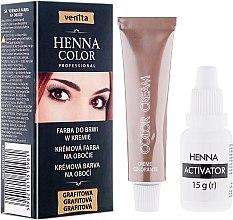 Voňavky, Parfémy, kozmetika Krém-henna na obočie - Venita Henna Color