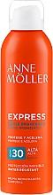 Voňavky, Parfémy, kozmetika Sprej na urýchlenie opaľovania - Anne Moller Express Bruma Body Tanning Spray SPF30