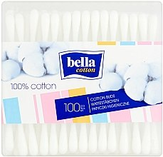Voňavky, Parfémy, kozmetika Vatové tyčinky obdĺžnikové, 100ks - Bella