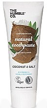 """Voňavky, Parfémy, kozmetika Prírodná zubná pasta """"Kokos"""" - The Humble Co. Natural Toothpaste Coconut & Salt"""