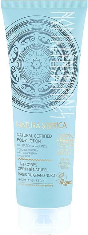 """Lotion na telo """"Severné bobule"""" - Natura Siberica Natural Certified Body Lotion — Obrázky N1"""