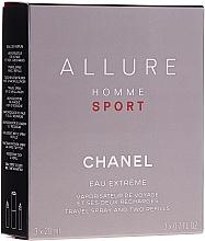 Voňavky, Parfémy, kozmetika Chanel Allure Homme Sport Eau Extreme - Parfumovaná voda (edp/20ml + refills/2x20ml)