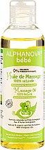 Voňavky, Parfémy, kozmetika Masážny olej pre deti a bábätká - Alphanova Bebe Massage Oil 100% Natural