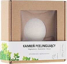 Voňavky, Parfémy, kozmetika Prírodný kameň na peeling na tvár, biely - Pierre de Plaisir Natural Scrubbing Stone Face