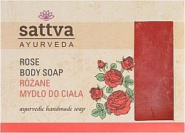 Voňavky, Parfémy, kozmetika Mydlo - Sattva Hand Made Soap Rose