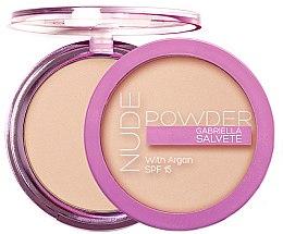 Voňavky, Parfémy, kozmetika Púder na tvár - Gabriella Salvete Nude Powder SPF15