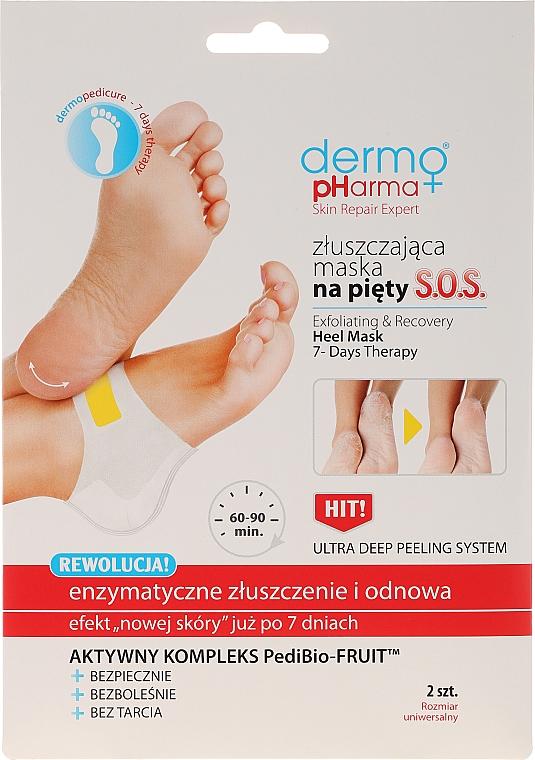 Exfoliačná maska na päty - Dermo Pharma Skin Repair Expert