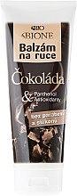 """Voňavky, Parfémy, kozmetika Balzam na ruky """"Čokoláda"""" - Bione Cosmetics Chocolate Hand Restorative Balm"""