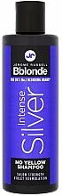 Voňavky, Parfémy, kozmetika Tónovaný šampón pre svetlé, sivé a farbené vlasy - Jerome Russell Bblonde Intense Silver No Yellow Shampoo