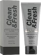 Voňavky, Parfémy, kozmetika Hlinená transformujúca maska s dreveným uhlím - Eunyul Clean & Fresh Charcoal Transforming Clay Mask
