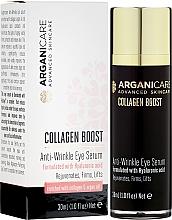 Voňavky, Parfémy, kozmetika Sérum proti vráskam pre kontúry očí - Arganicare Collagen Boost Anti Wrinkle Eye Serum
