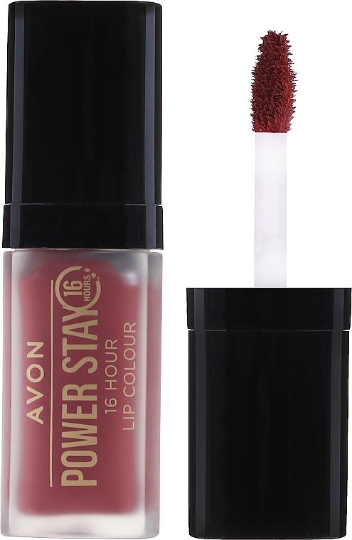 "Tekutá rúž ""Super trvanlivosť"" - Avon Power Stay 16-Hour Matte Lip Color"