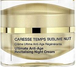 Voňavky, Parfémy, kozmetika Anti-age regeneračný nočny krém - Qiriness Caresse Temps Sublim Nuit