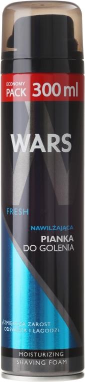 "Holiaca pena ""Hydratačná"" - Wars Fresh Moisturizing Shaving Foam"