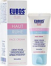 Voňavky, Parfémy, kozmetika Krém na tvár, detský - Eubos Med Dry Skin Children Face Cream