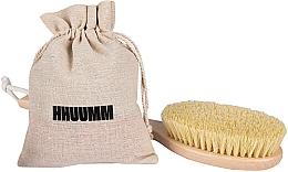 Voňavky, Parfémy, kozmetika Masážna kefa na telo s vláknami tampico, predĺžený - Hhuumm № 5
