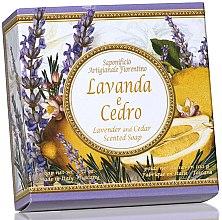 """Voňavky, Parfémy, kozmetika Prírodné mydlo """"Levanduľa a Cedar"""" - Saponificio Artigianale Fiorentino Capri Lavender & Cedar"""